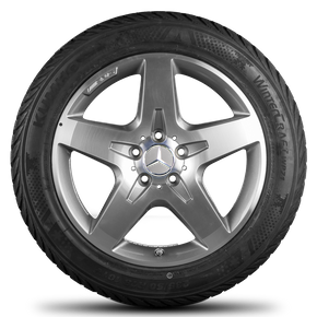AMG 18 inch rims winter wheels Mercedes Benz GLA X156 alloy wheels winter tyres