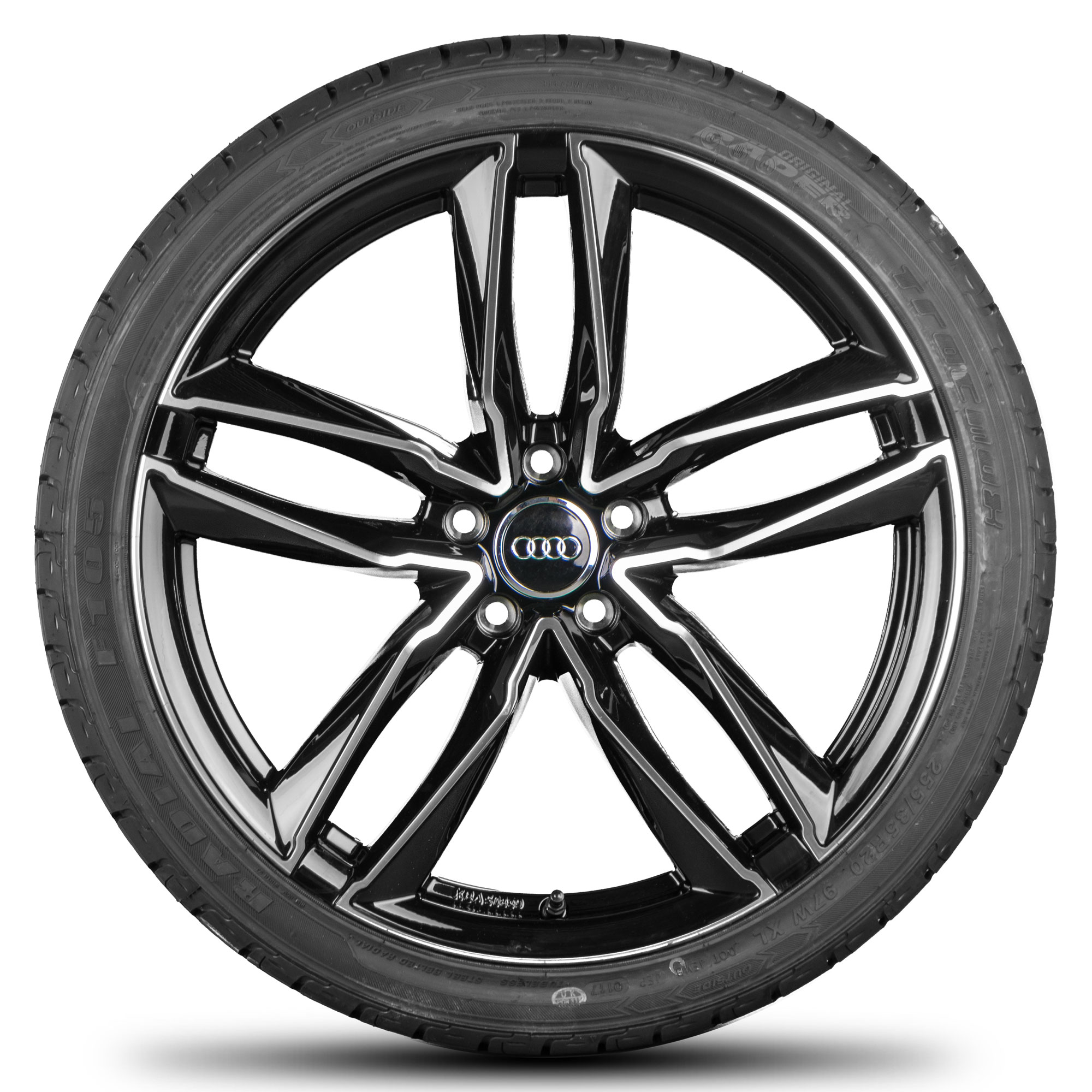 19 Inch Alloy Wheels For Audi A3 8v A4 S4 A5 S5 A6 A7 A8 Q3 Tt Rims S Line Motec Hersteller Audi