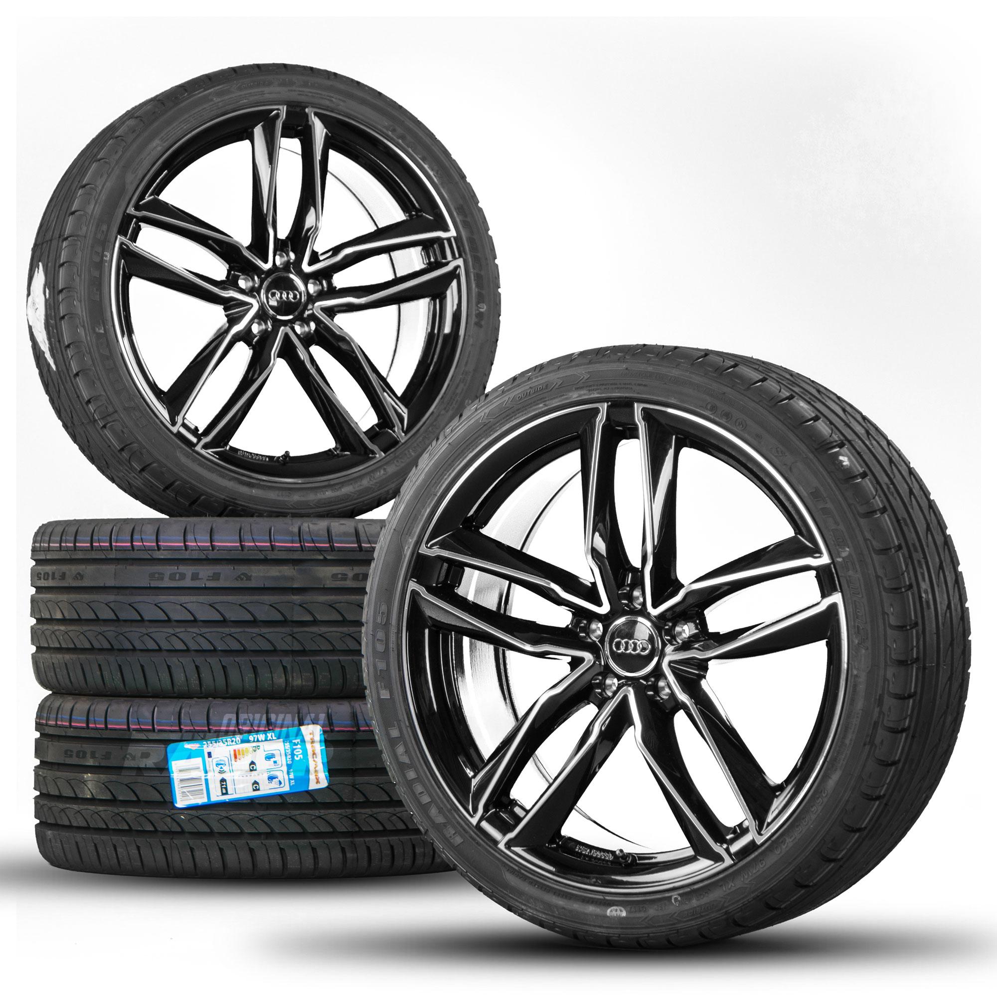 19 Inch Alloy Wheels For Audi A3 8v A4 S4 A5 S5 A6 A7 A8 Q3 Tt Rims S Line Motec Hersteller Audi