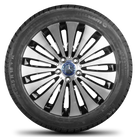 Mercedes 18 inch rims E-class W213 alloy wheels RDK winter tyres new winter