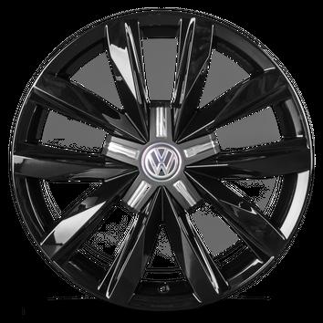 VW 18 Zoll Alufelgen T5 T6 Bus Multivan Caravelle Springfield Felgen schwarz NEU – Bild 2