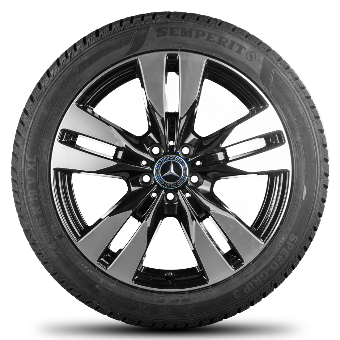 Mercedes benz 19 inch rims v class vito viano w639 winter for Mercedes benz tyres