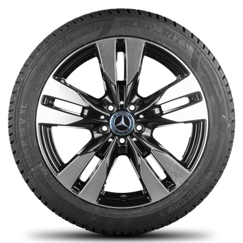 Mercedes Benz 19 Zoll Felgen V-Klasse Vito Viano W639 Winterreifen Winterräder – Bild 2