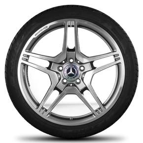 AMG Mercedes 19 inch rims CLS 63 C218 E63 W212 alloy wheels summer tires summer