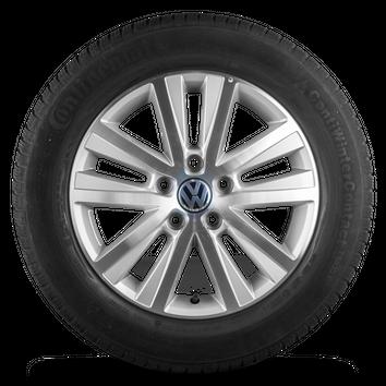 VW 17 Zoll Felgen Bus Multivan T6 T5 Cascavel Alufelgen Winterreifen Winterräder – Bild 4
