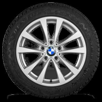 BMW 17 Zoll Felgen 3er F30 F31 4er F32 F33 Styling 395 Winterreifen Winterräder – Bild 2