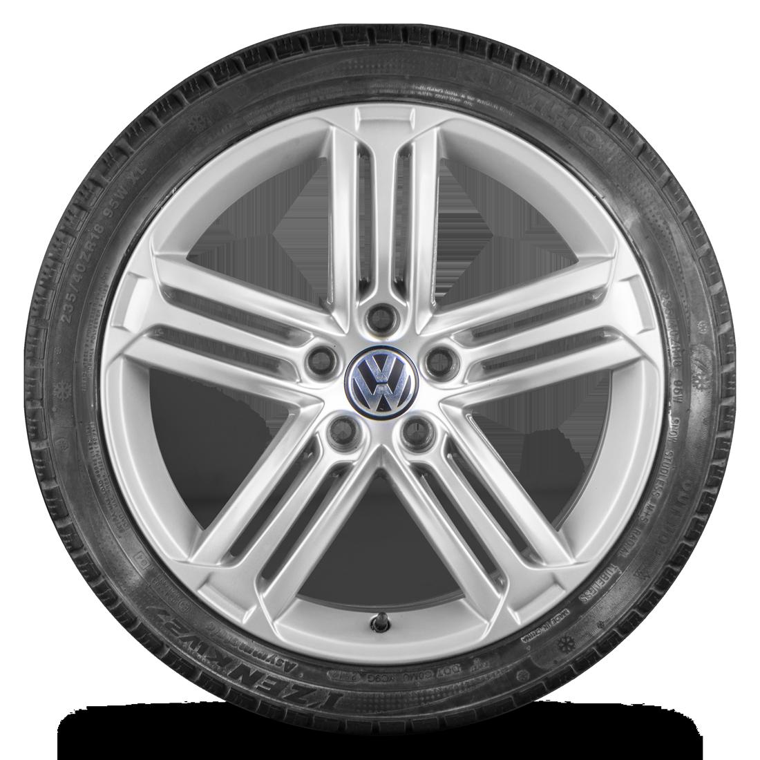 Original VW 18 Zoll Felgen Passat CC Scirocco TallagedaWinterreifen Winterräder