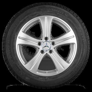 Mercedes 17 Zoll Felgen E-Klasse W213 S213 Barum Winterreifen Winterräder NEU – Bild 2
