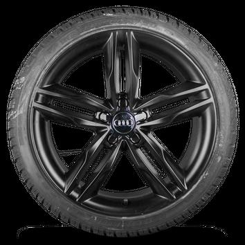 Audi 19 Zoll Felgen A5 S5 B8 Alufelgen schwarz Winterreifen Winterräder 7 mm – Bild 4