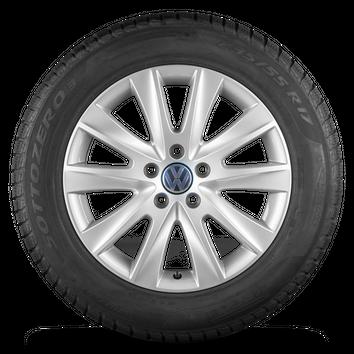 VW 17 Zoll Felgen Tiguan 5N Los Angeles Alufelgen Winterreifen Winterräder – Bild 2