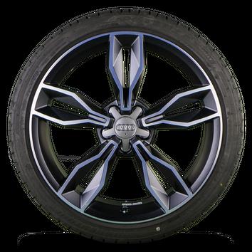 Original Audi 18 Zoll Alufelgen A1 S1 8X Felgen Sommerreifen Sommerräder 7,5 mm – Bild 4