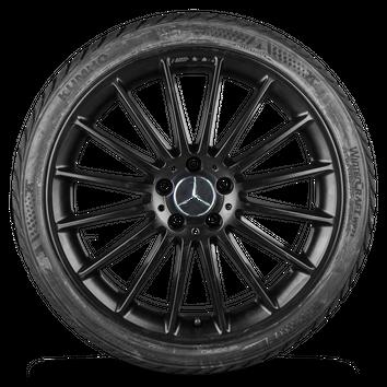19 Zoll Winterräder AMG A45 CLA 45 C117 X117 Winterreifen Mercedes A-Klasse W176 – Bild 3