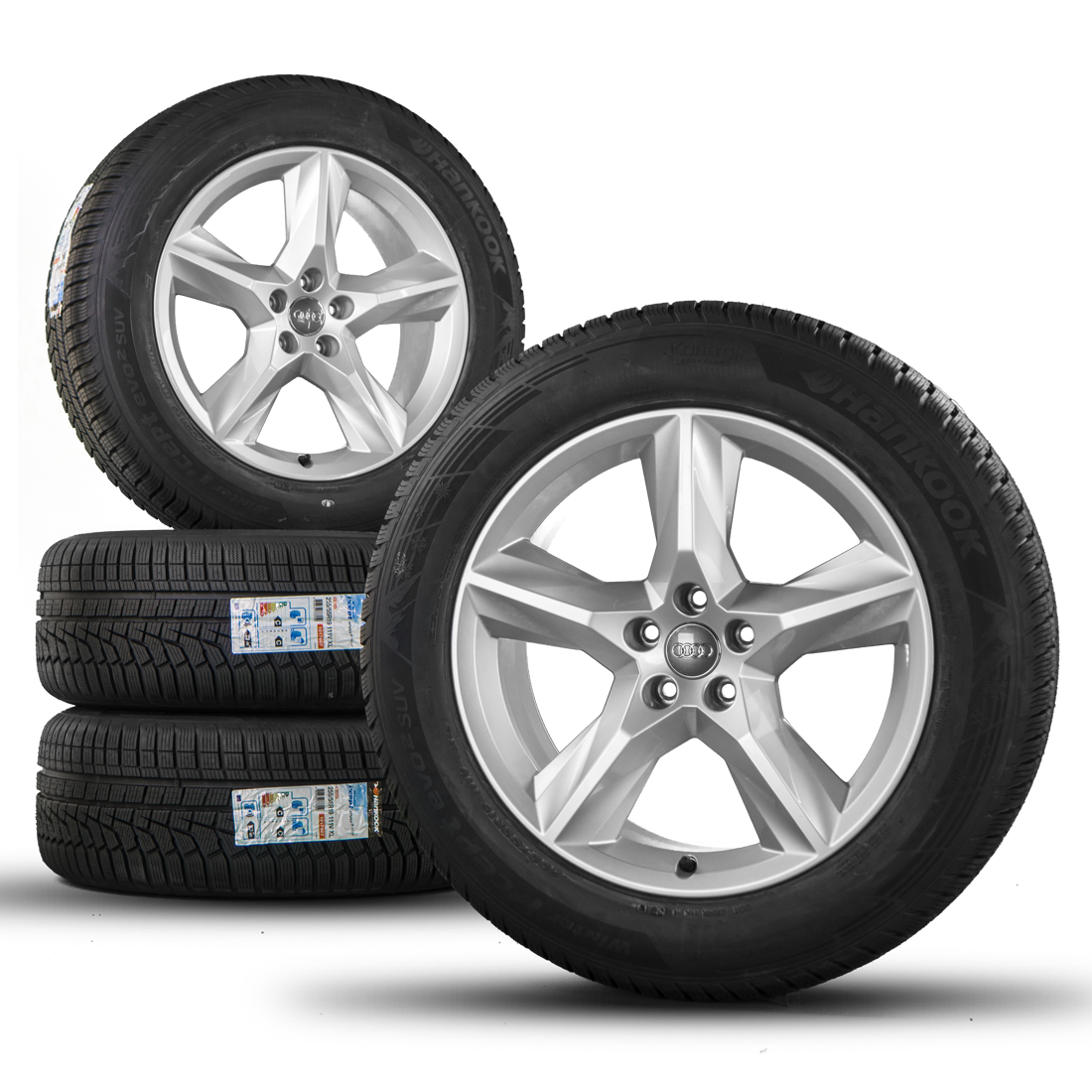 audi q7 4m 19 inch alloy wheels rims winter tyres winter. Black Bedroom Furniture Sets. Home Design Ideas