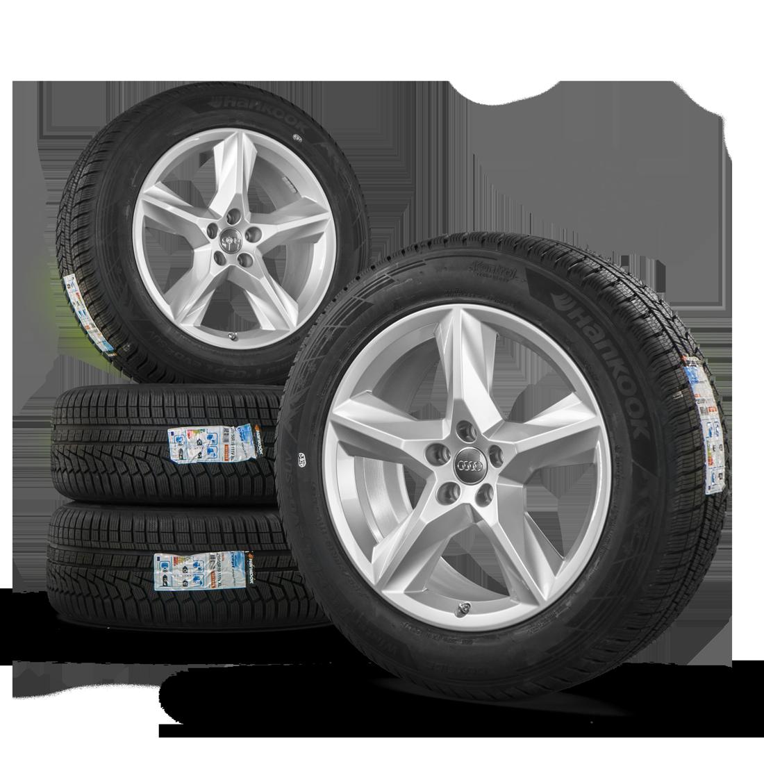 original audi sq7 4m 19 inch alloy wheels rims winter tyres. Black Bedroom Furniture Sets. Home Design Ideas