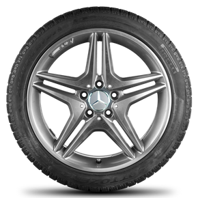 AMG Mercedes-Benz A B CLA class 18 inch winter tyres winter wheels W176 W246