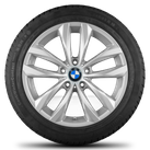 BMW 18 inch rims 5 series F10 F11 6 series F12 F13 Styling 609 winter tyres