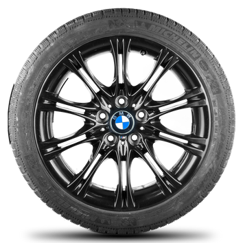 BMW 18 Zoll Felgen 5er E60 E61 M135 M 135 Alufelgen Winterreifen Winterräder – Bild 3
