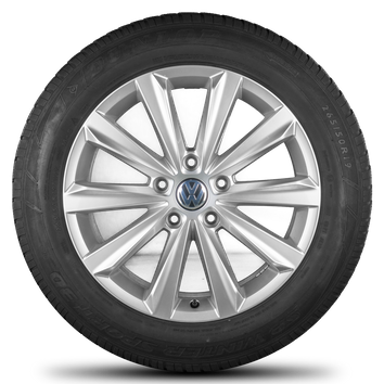 VW Touareg 7P 19 Zoll Alufelgen Felgen Salamanca Winterräder Winterreifen R line – Bild 4
