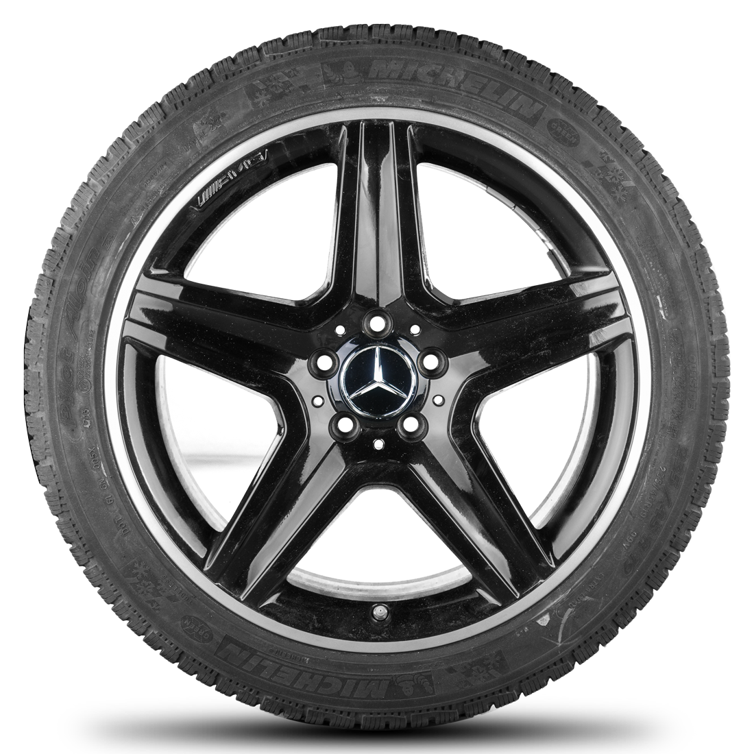 Amg 19 inch mercedes benz rims gla x156 alloy wheels winter for Mercedes benz tyres