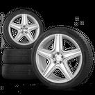 AMG Mercedes M ML-Klasse W164 21 Zoll Alufelgen Felgen Winterreifen Winterräder