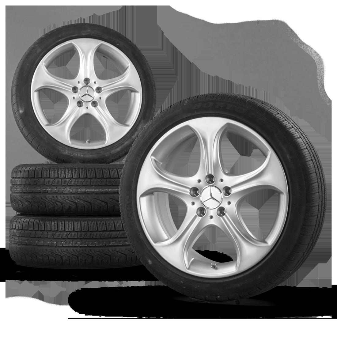 18 inch winter wheels alloy wheels mercedes benz w205 s205 for Mag wheels for mercedes benz