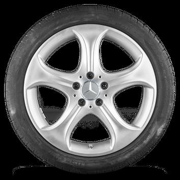 18 Zoll Winterräder Alufelgen Mercedes Benz W205 S205 C205 A205 Winterreifen – Bild 2