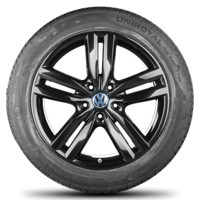 VW 20 inch rims Touareg 7P alloy wheels Pikes Peak summer tires summer wheels