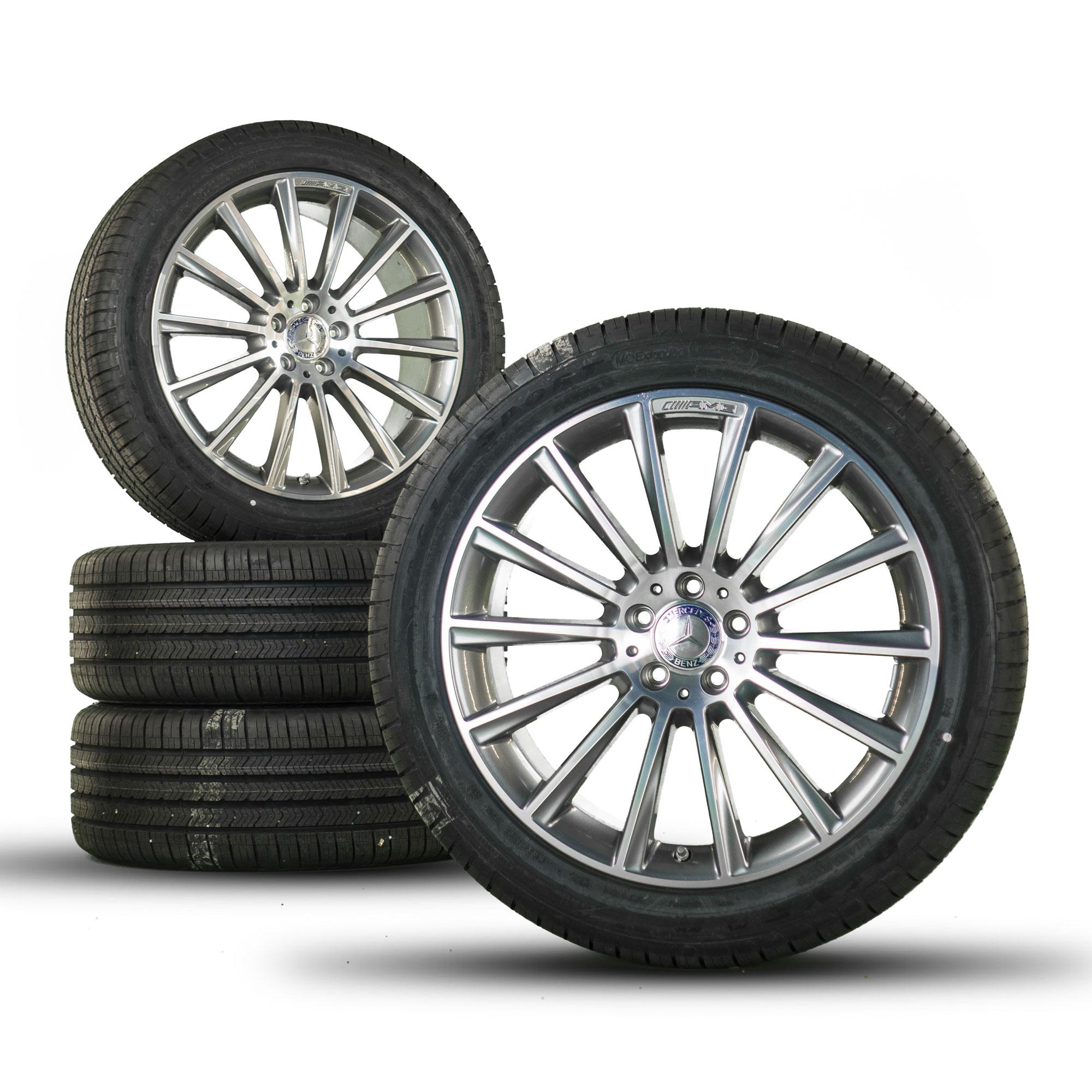 20 Inch Mercedes Benz Glc X253 Glc43 Amg Rims Allwetter