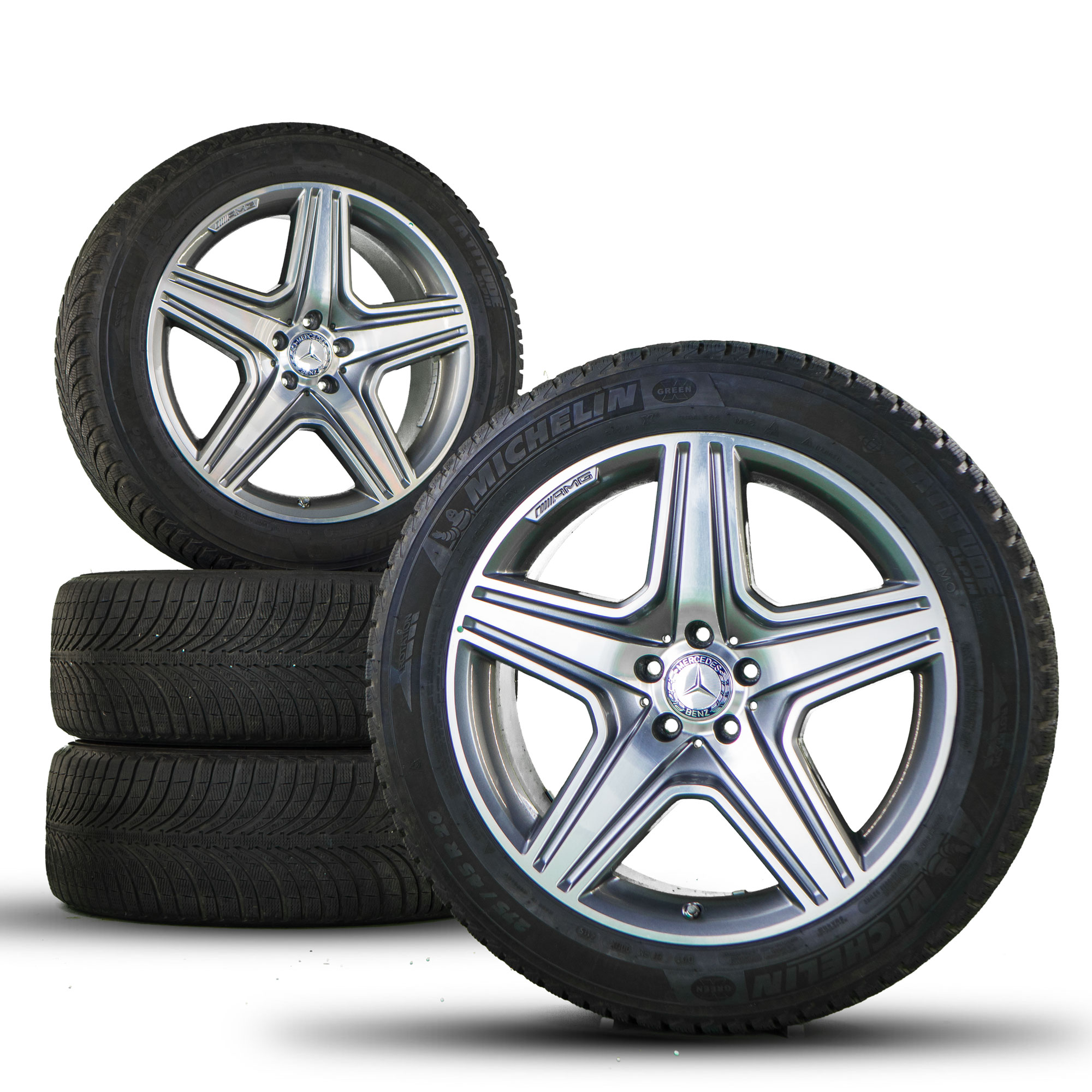 Mercedes benz 20 inch rims gl 63 amg x166 alloy wheels for Mercedes benz tyres