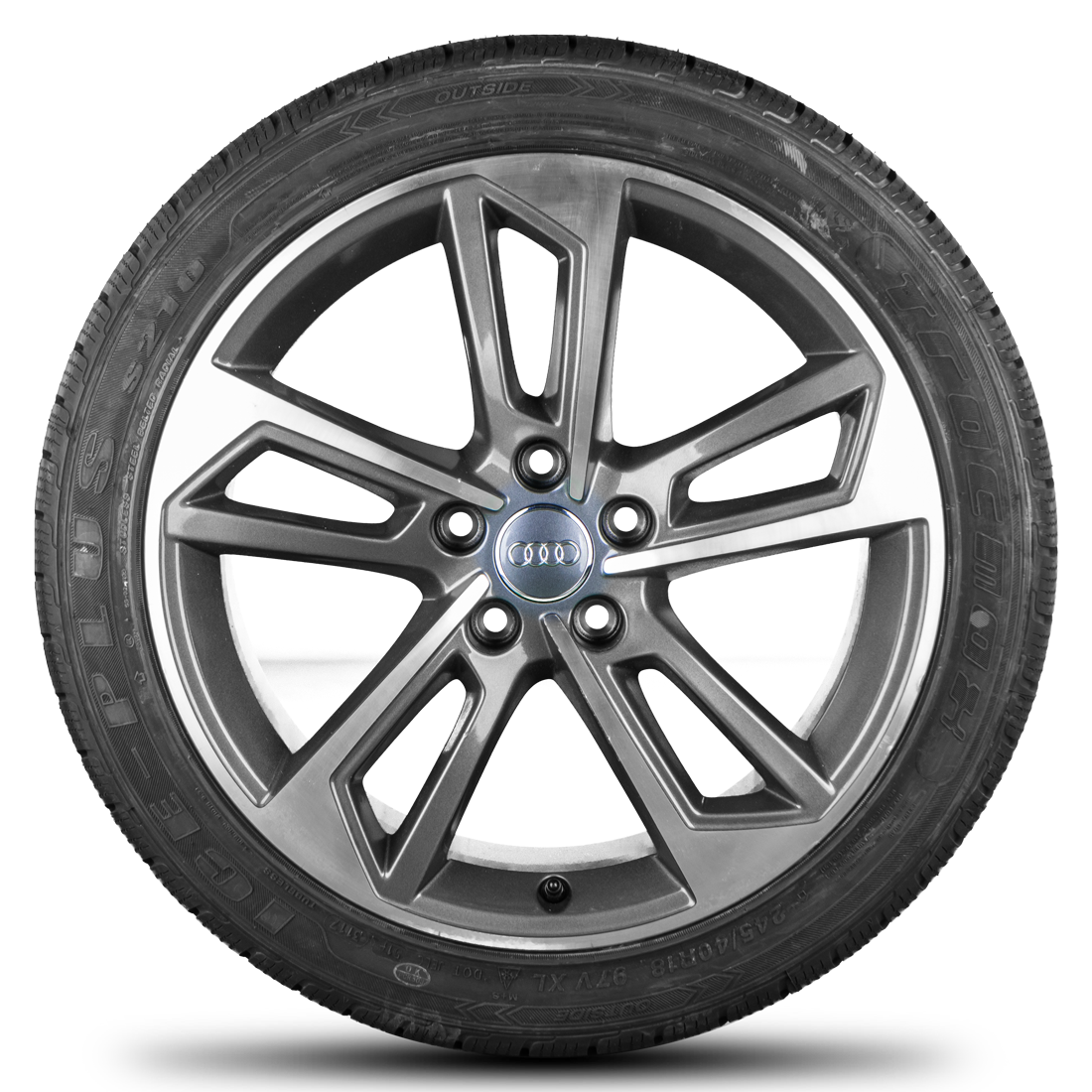 Audi 18 Zoll Felgen A4 S4 8W Rotor Alufelgen Winterreifen Winterräder Neu