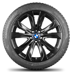 BMW X5 E70 F15 F16 20 inch rims winter tyres winter wheels Styling 491 new
