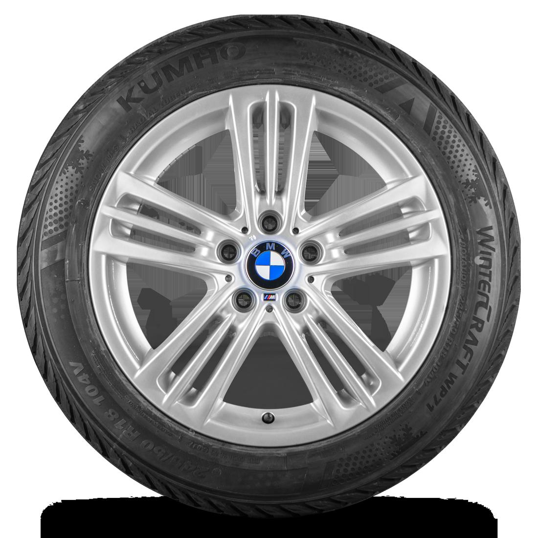 BMW X3 F25 X4 F26 18 Zoll Alufelgen M368 M 368 Winterräder Winterreifen 8 mm