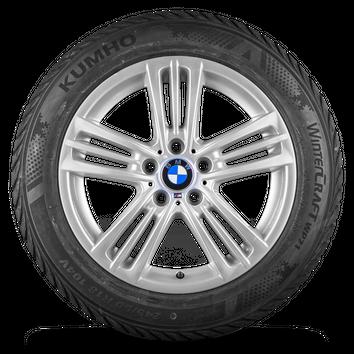 BMW X3 F25 X4 F26 18 Zoll Alufelgen M368 M 368 Winterräder Winterreifen 8 mm – Bild 3