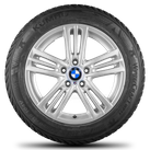 BMW X3 F25 X4 F26 18 inch alloy wheels M368 M 368 winter wheels winter tyres 8