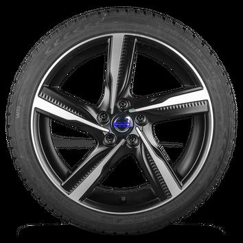 Volvo S60 18 Zoll Alufelgen Felgen Winterreifen Winterräder Ixion II R-design – Bild 2