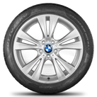 BMW X3 F25 X4 F26 19 inch rims alloy wheels winter tyres winter wheels Styling