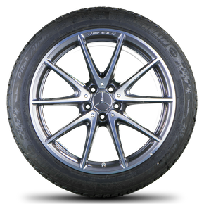 Mercedes-Benz E63 AMG S 19 inch alloy wheels rims winter tyres winter wheels