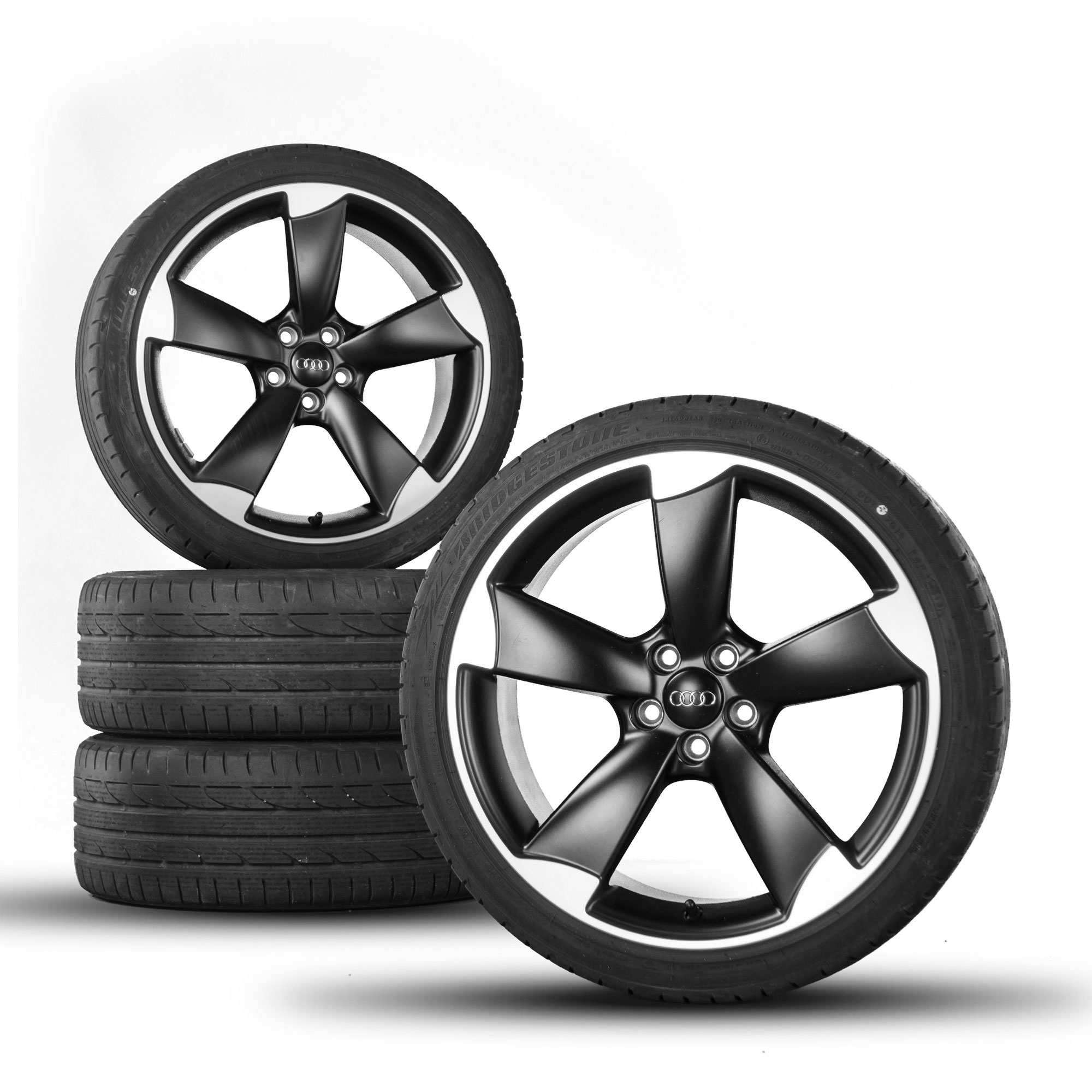 Audi A1 S1 8X 18 Inch Alloy Wheels Rotor S-Line Rims