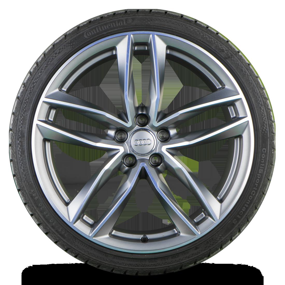 Original Audi 20 Zoll Felgen A5 S5 B8 Alufelgen Sommerreifen Sommerräder