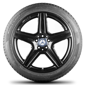 AMG 19 inch Mercedes Benz rims GLA X156 alloy wheels winter tyres winter wheels