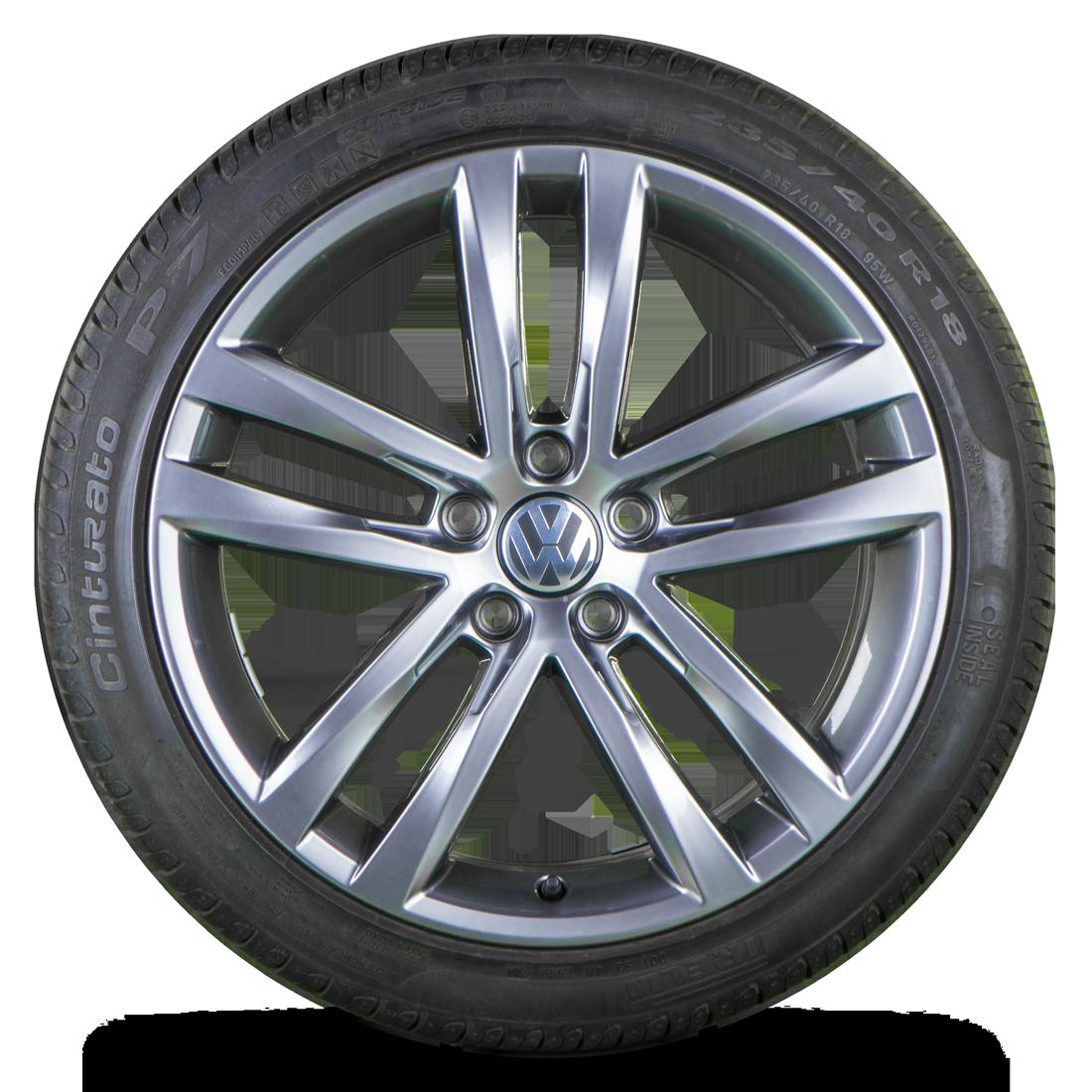 VW 18 Zoll Felgen Passat CC Scirocco EOS Alufelgen Sommerreifen Salvador