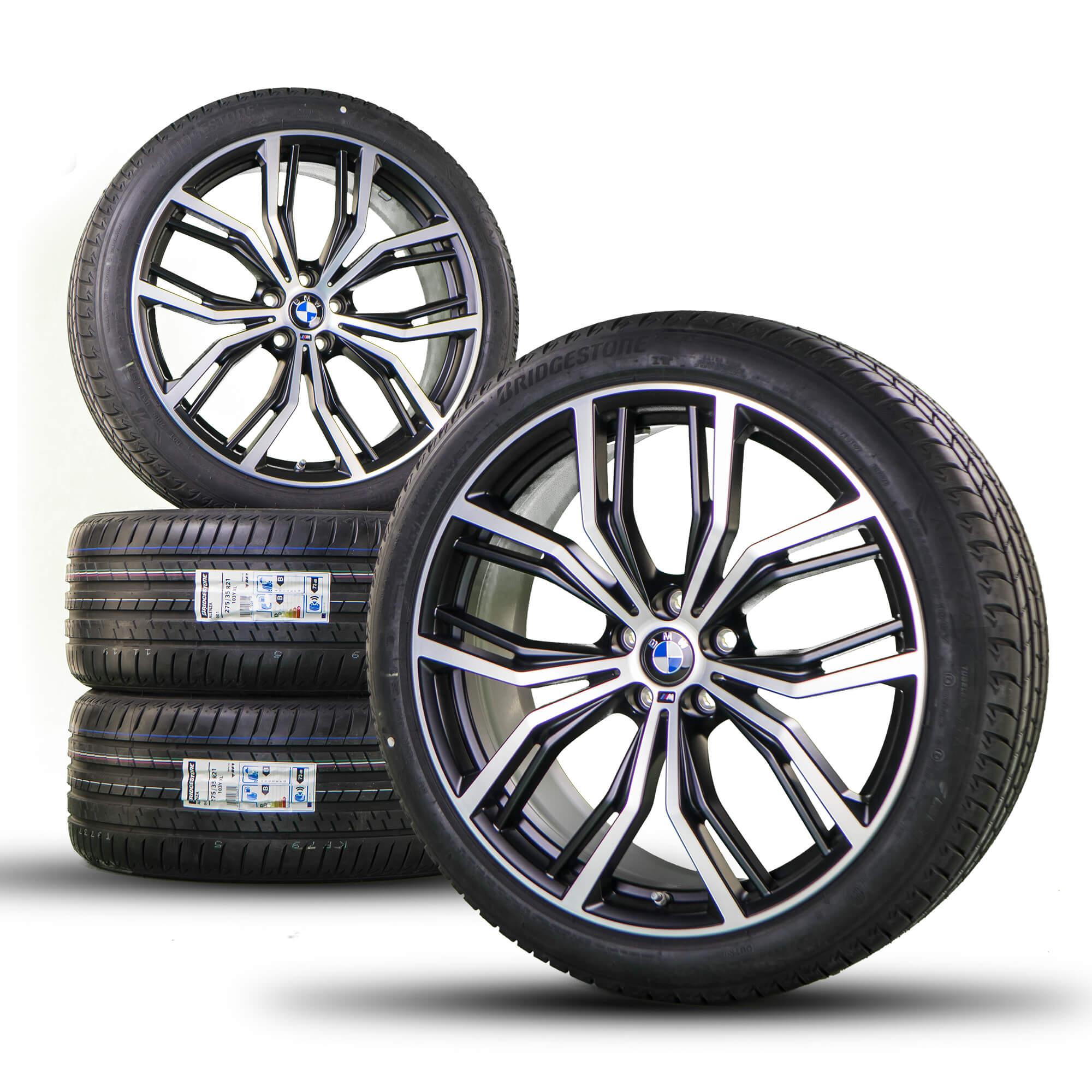 Bmw X3 G01 X4 G02 21 Inch Alloy Wheels Rims Summer Tires Styling