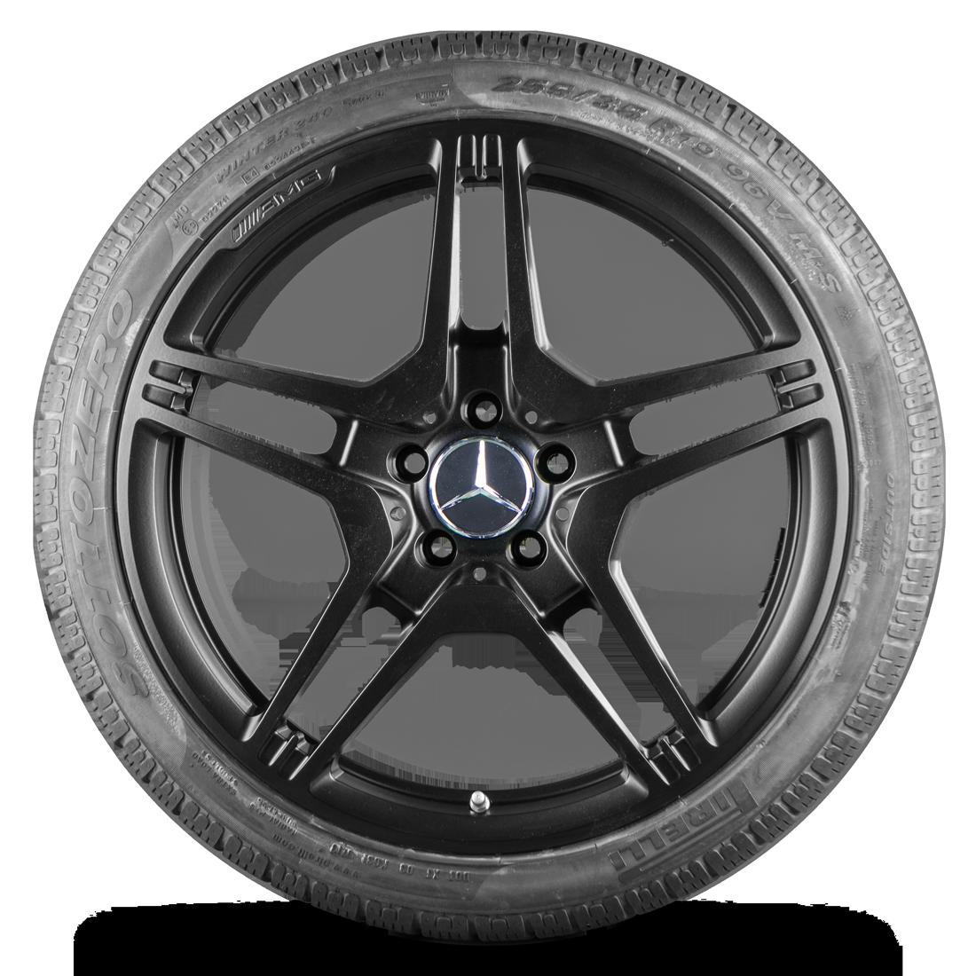 AMG 19 Zoll Winterreifen Mercedes Benz CLS 63 AMG C218 X218 Winterräder Felgen