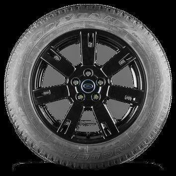 19 Zoll Felgen Land Range Rover Sport LS Alufelgen schwarz Ganzjahresreifen 7 mm – Bild 4
