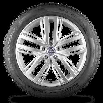 VW Tiguan 2 5NA 19 Zoll Felgen Auckland Alufelgen Winterreifen Winterräder  – Bild 3