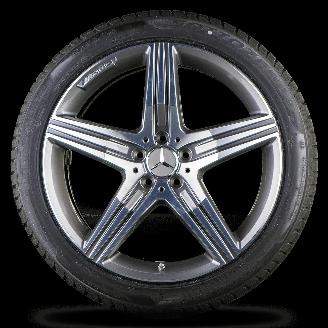 20 Zoll Winterräder Mercedes S-Klasse S 63 Coupe S 65 AMG W222 C217 Winterreifen