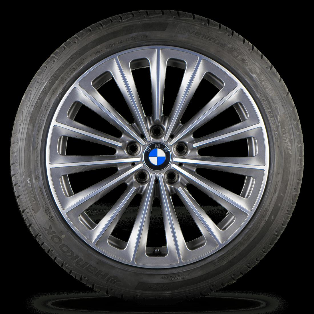 BMW 5er GT F07 7er F01 F02 19 Zoll Alufelgen Felgen Sommerreifen Styling 252