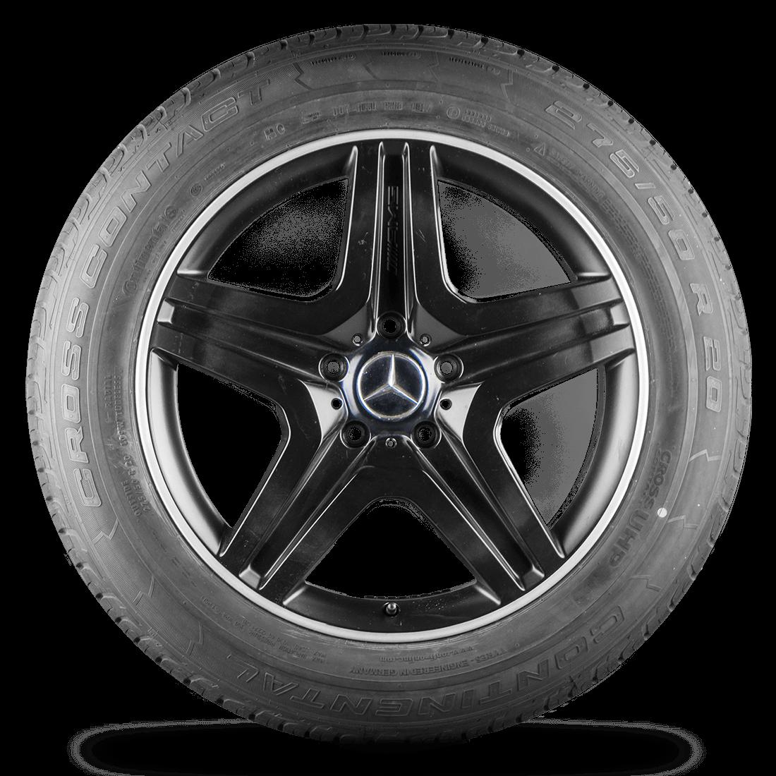 Mercedes Benz G63 G65 AMG G-Klasse W463 20 Zoll Felgen Alufelgen Sommerreifen