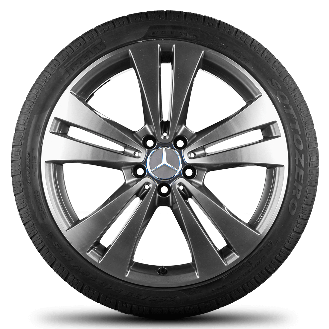 Mercedes benz 19 inch rims cls c218 x218 alloy wheels tyres for Mercedes benz tyres