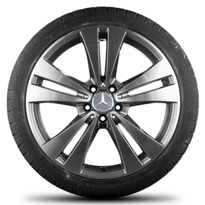 Mercedes Benz 19 inch rims CLS C218 X218 alloy wheels winter tyres winter